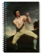 Richard Humphreys, The Boxer                                     Spiral Notebook
