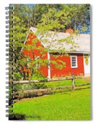 Richard Hunnewell House, Scarborough Maine Spiral Notebook