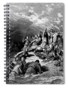 Richard I The Lionheart Delivering Jaffa 1877 Spiral Notebook