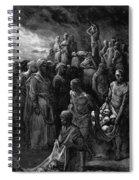 Richard I The Lionheart Massacres Captives In Reprisal 1877 Spiral Notebook