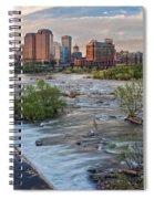 Richmond Evening Skyline I Spiral Notebook
