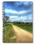 Richmond-lynchburg Stage Road, Appomattox, Virginia Spiral Notebook