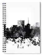 Richmond Virginia Skyline Spiral Notebook