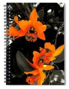 Richness In Sunshine Spiral Notebook