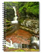Ricketts Glen Adams Falls Spiral Notebook