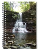 Ricketts Glen Waterfall Spiral Notebook