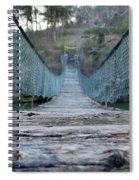 Rickety Bridge Spiral Notebook