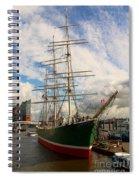 Rickmer Rickmers A Three Masted Barque Spiral Notebook