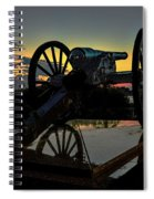 Ride Into The Sun Spiral Notebook