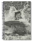 Ride The Wave Spiral Notebook