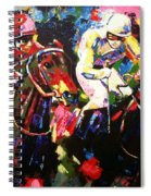 Ride To Glory Spiral Notebook