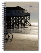 Ride Your Bike To The Beach Spiral Notebook