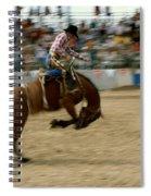 Ridem Cowboy Spiral Notebook