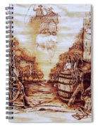 Riders In The Sky Spiral Notebook