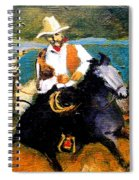 Riders In The Storm Spiral Notebook
