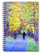 Riders On The Vine Spiral Notebook