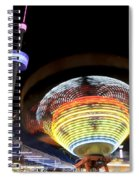 Rides In Motion Dallas Texas Spiral Notebook