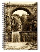 Ridge Avenue Falls Along The Wissahickon Creek Spiral Notebook