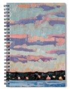 Ridge Stratocumulus Spiral Notebook
