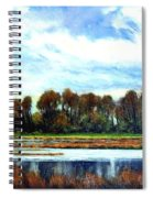 Ridgefield Refuge Early Fall Spiral Notebook