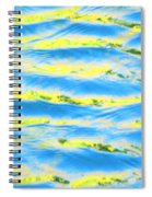 Riding A Wave Spiral Notebook