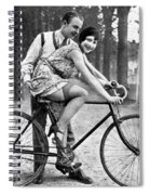 Riding Bike Makes Sexy Spiral Notebook