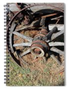 Riding Days Are Over Spiral Notebook