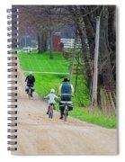 Riding Home Spiral Notebook