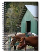 Riding Horses Spiral Notebook
