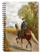 Riding Scene Spiral Notebook
