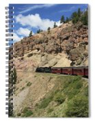 Riding The Cumbres And Toltec Spiral Notebook