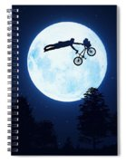 Riding The Kuwahara Bmx Like A Boss Spiral Notebook