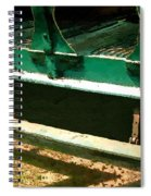 Riding The Rails Spiral Notebook