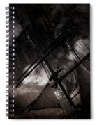 Riding The Storm Spiral Notebook