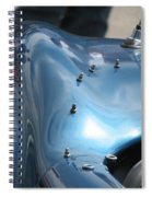 Riding The Surf Spiral Notebook