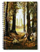 Riflemen At Saratoga Spiral Notebook
