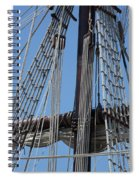 Rigging Aboard The Galeon Spiral Notebook
