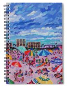 Right Panel Of Triptych Busy Relaxing Spiral Notebook
