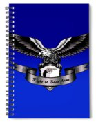 Right To Bear Arms Spiral Notebook