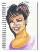 Rihanna Spiral Notebook