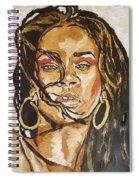 Rihanna Spiral Notebook