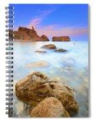 Rijana Beach Mediterranean Sea Spiral Notebook