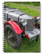 Riley Nine 1933 Spiral Notebook