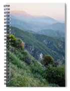 Rim O' The World National Scenic Byway II Spiral Notebook