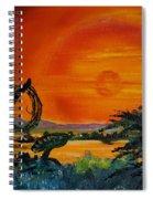 Rim Of Fire     72 Spiral Notebook