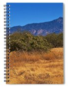 Rincon Peak, Tucson, Arizona Spiral Notebook