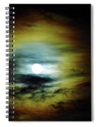 Ring Around The Moon Spiral Notebook