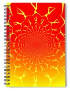Ring Of Fire Dancers Spiral Notebook
