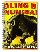 Ringling Brothers Barnum And Bailey Circus Spiral Notebook