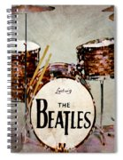 Ringo's Drums Spiral Notebook